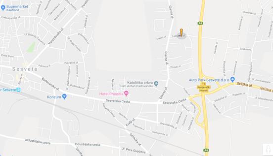 Osnovna škola Sesvetska Sela - Lokacija